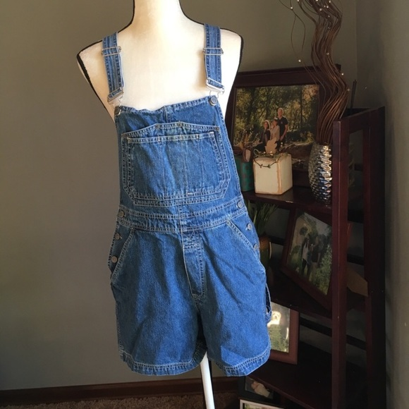 vintage shorts overalls